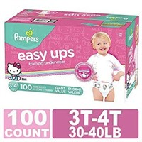 PAMPERS EASY UPS 100PCS 3T-4T