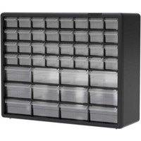 AKRO MILS PLASTIC DRAWER PARTS CABINET 44 DRAWERS