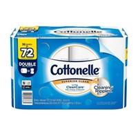 COTTONELLE 36 DOUBLE ROLLS TOILET PAPER