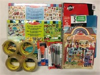 ASSORTED SCHOOL SUPLLY ITEMS
