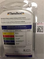 THERA-BAND RESISTANCE BANDS 5FT