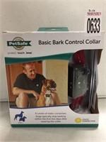 PETSAFE BASIC BARK CONTROL COLLAR 8LBS+