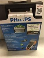 PHILIPS LITHIUM-ION CORDLESS POWER HAIR CLIPPER