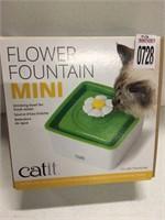 CAT IT MINI FLOWER FOUNTAIN DRINKING BOWL 1.5L