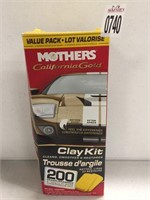 MOTHERS CALIFORNIA GOLD CLAY KIT