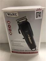 WAHL PROFESSIONAL CORDLESS DESIGNER HAIR CLIPPER