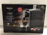 MARTELLO CAFÉ ESPRESSO CAPSULE SYSTEM 20 BARS