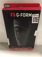 G-FORM PRO-S ELITE SHIN GUARDS XL