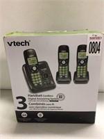 VTECH 3 HANDSET CORDLESS DIGITAL ANSWERING