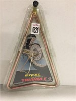 EXCEL PRO SERIES TRIANGLE STAND GOLD