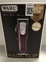 WAHL PROFESSIONAL CORDLESS MAGIC CLIP HAIR CLIPPER