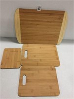 BAMBUSI COLLECTION 4-PIECE CHOPPING BOARD