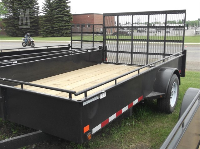 Utility Trailers For Sale Ontario >> 2019 Canada Trailers Mfg Ut712 3k 7x12 Utility Trailer For
