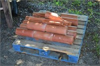 """Pallet of 4"""" Clay Tile"""