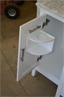 "Home Decorators Sassy 6 White Vanity - 60"""