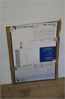 Glacier Bay Laundry Sink and Cabinet