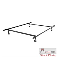 CorLiving Queen Box Spring and Steel Bed Frame