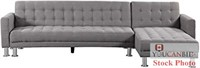 Attalens Faux Leather Sectional Sofa