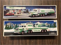 LOT OF 2 HESS TRUCKS