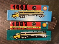 LOT OF 2 SHELL TRUCKS