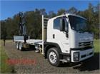 2019 Isuzu FVY 240 300 AUTO LWB Crane Truck