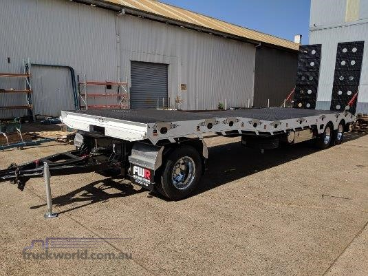 2020 FWR 3 Axle Dog Trailer - FD3 Air Bag - Trailers for Sale
