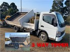 2007 Fuso Canter Tipper