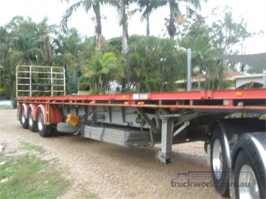 2010 Freighter Flat Top Trailer Steve Penfold Transport Pty Ltd - Trailers for Sale