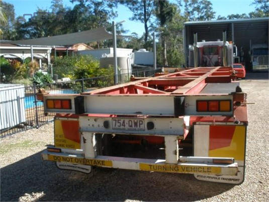 1999 Freighter Skeletal Trailer Steve Penfold Transport Pty Ltd - Trailers for Sale