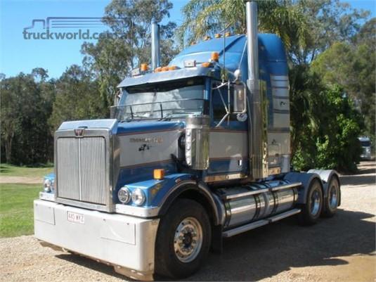2007 Western Star 4800FX Steve Penfold Transport Pty Ltd  - Trucks for Sale