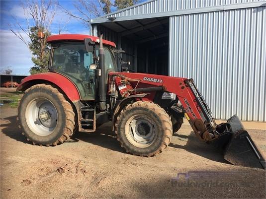 2016 Case Ih Maxxum 125 Tractors