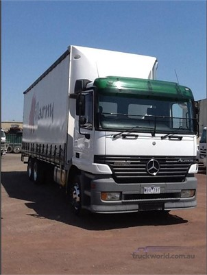 2002 Mercedes Benz Actros 2643 - Trucks for Sale