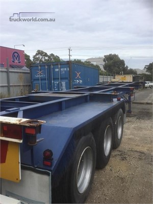 1974 Tieman Skeletal Trailer - Trailers for Sale