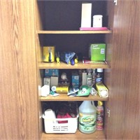 Household Contents in Entry Closet