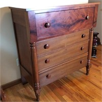 Antique One Over Three Chest of Drawers