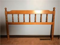 Crawford Furniture 6 Drawer Chest, Headboard