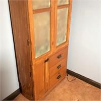 Antique Gun Cabinet
