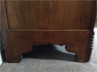 Antique 1 over 3 Dresser with Glove Box Top