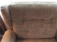 Gold La Z Boy Sleeper Sofa