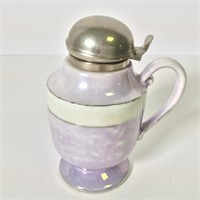 Royal Rochester Luster Glass Syrup Pitcher