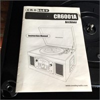 Crosley CR6001A  Archiver Turntable