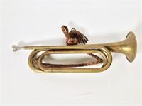 Vintage US Regulation Bugle