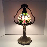 Tiffany Style Bell Shape Desk Lamp