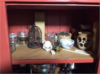 Contents of Dry Sink, Candles, Misc