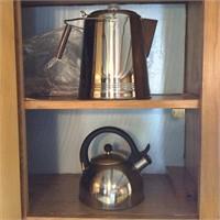 Gourmet Standard Cowboy Coffee Pot, Tea Kettle