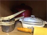 Cupboard Lot Kitchen Items