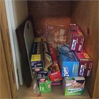 Cupboard Lot of Cutting Boards, Wrap