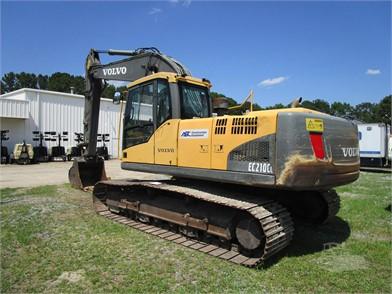 VOLVO Excavators For Sale In North Carolina - 44 Listings