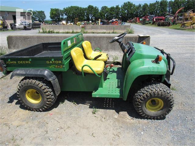 John Deere Gators >> Lot 297 John Deere Gator