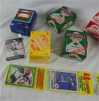 Score , Upperdeck & Topps Sports Card Lot